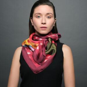 Αγόρασε το! πολυτελές μεταξωτό μαντήλι για γυναίκες Tita Hellas