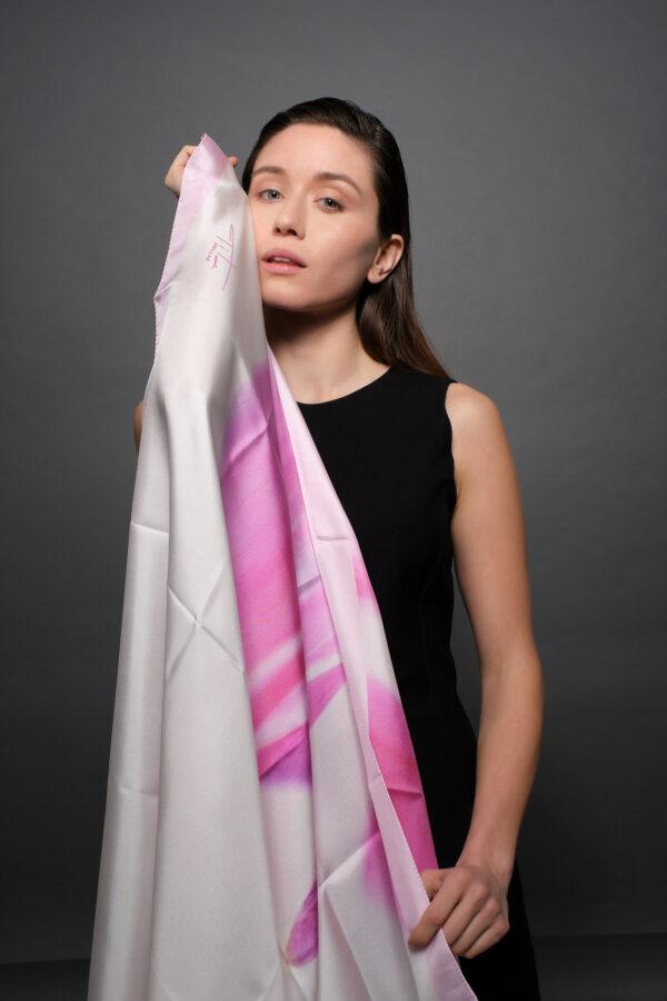 organic silk women scarves