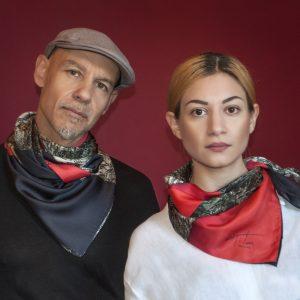 Tita Hellas-Unisex minimal silk foulard