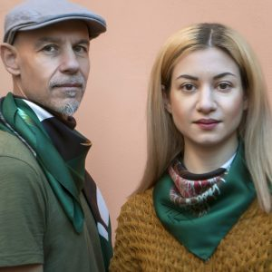 WindowGreen_Handmade Silk scarf 90&70 for men & women