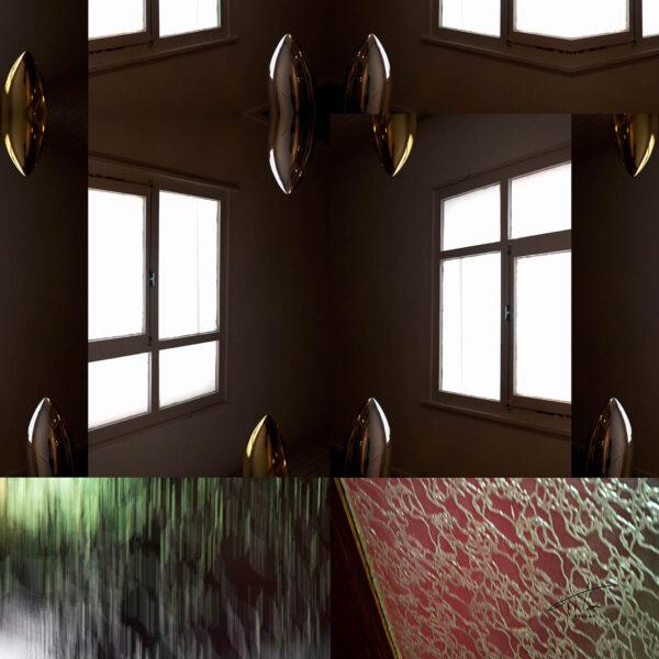 Tita Hellas-WINDOW c Unisex Designer Silk Scarf 90