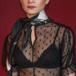 Riga- Handmade silk square 70-b&w silk foulard-unisex fashion Geometry collection
